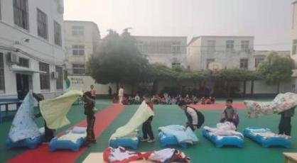 郾城东街小学学前班举行生活技能大赛